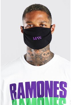 Purple MAN Dash Fashion Mask