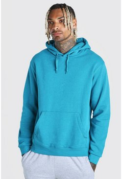 Teal Basic Over The Head Hoodie