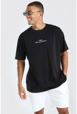 Black Pride isn't Just a Party Oversized T-Shirt