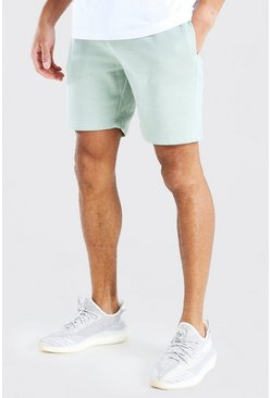 Mint Basic Mid Length Jersey Short