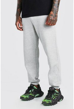 Grey marl Basic Loose Fit Jogger