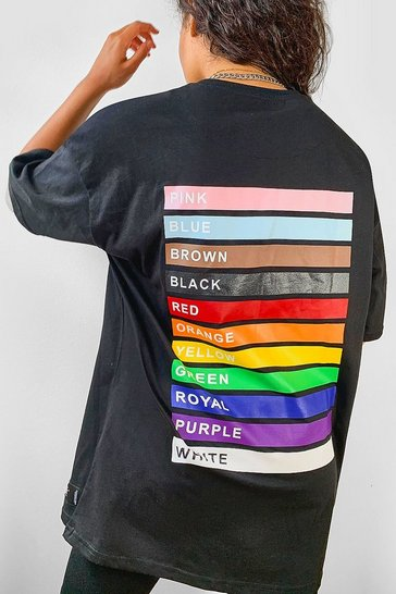 Black Pride Love is for Everyone Oversized T-Shirt