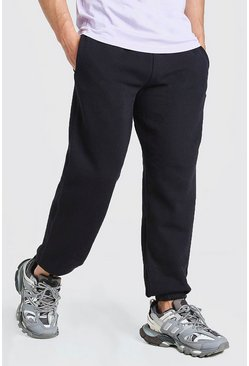 Basic Loose Fit Jogger, Black