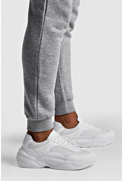 White Chunky sneakers med bred sula