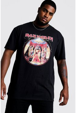 Big & Tall T-shirt Iron Maiden officiel, Noir