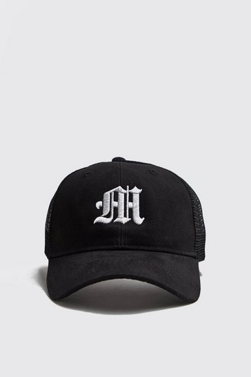 57fdc97fe M Embroidered Trucker Cap