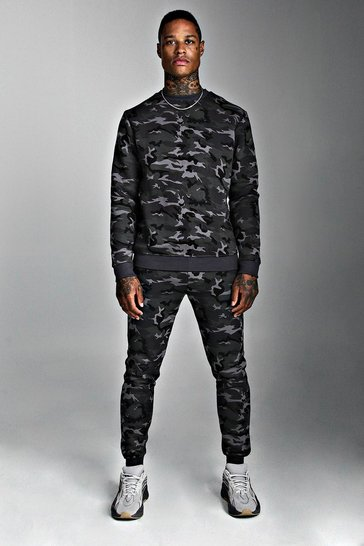 Camo Sweater Tracksuit