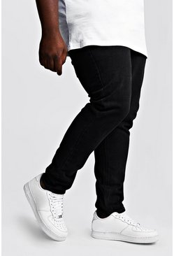 Washed black Big & Tall Slim Fit Rigid Jean
