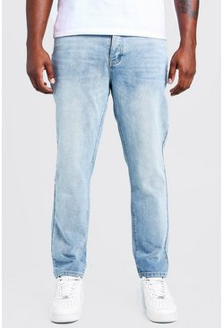 Light blue Big & Tall Slim Fit Rigid Jean