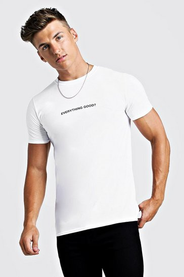 4538a4149d3e Mens T shirts and Vests | boohoo UK
