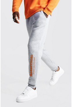 Herr Grey MAN Official 3D Embroidered Jogger