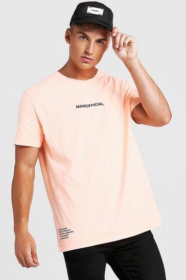 9807f5b77950 Loose Fit MAN Official Drip Print T-Shirt
