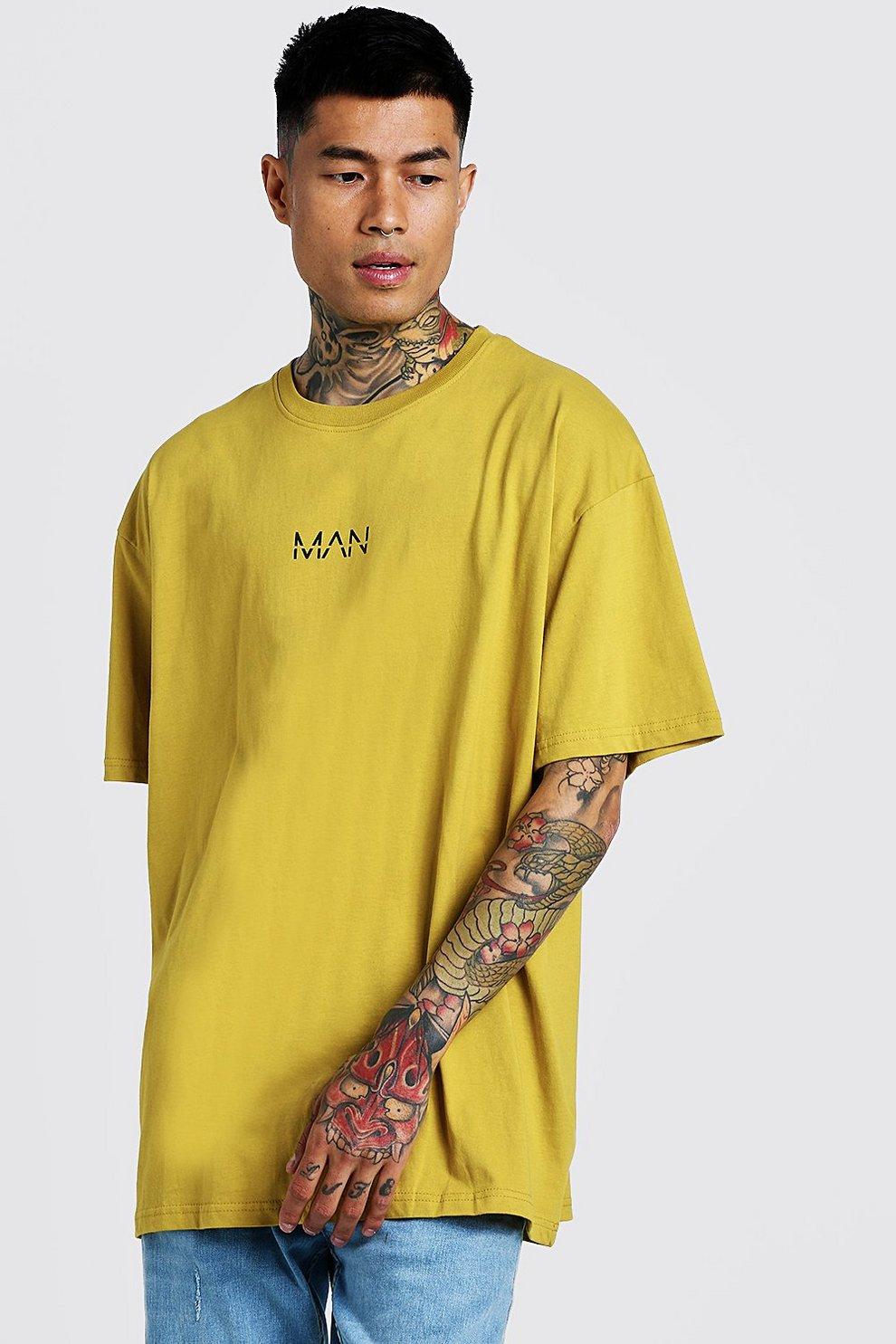 eb39f04de3 T-shirt oversize con stampa Original MAN   Boohoo