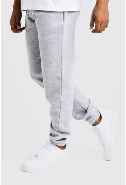 Herr Grey Basic Loose Fit Jogger