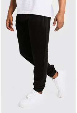 Basic Loose Fit Jogger, Black, HOMBRE