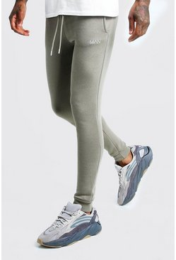 Sage silver MAN Super skinny joggers