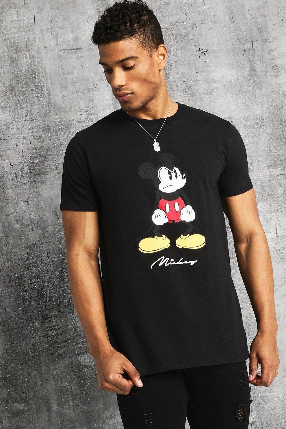 Camiseta Enfadado De Estampado Disney Con Mickey dBroCxe