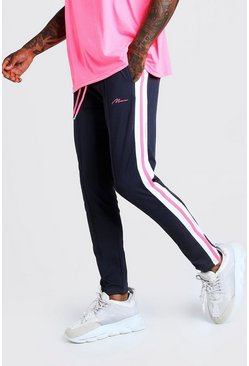 Rayures Fluo À Signature Slim Man Jogging Coupe vY6Ibfm7gy
