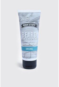 MAN Stuff Beard Shampoo, Clear, HERREN