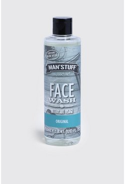 MAN Stuff Face Wash, Clear, HOMBRE