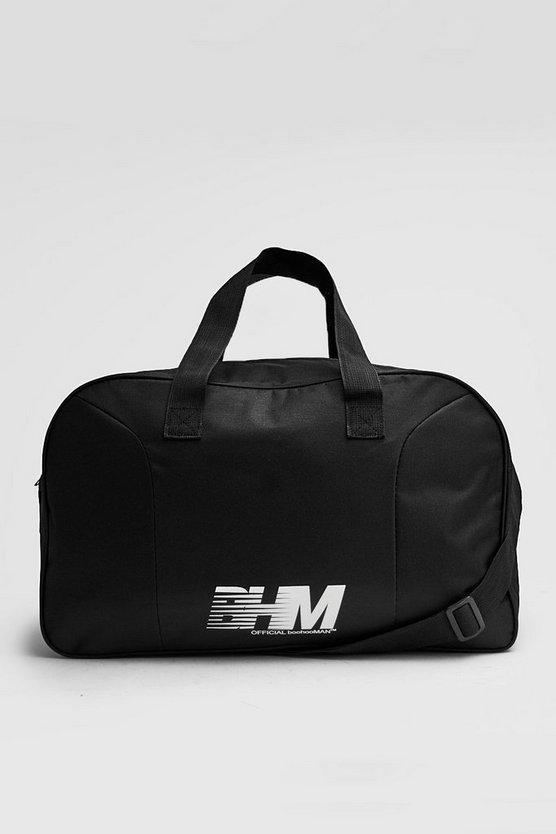 Mens Black BHM Holdall