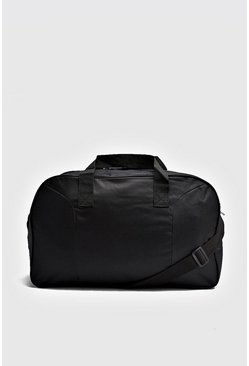 Herr Black Basic Holdall