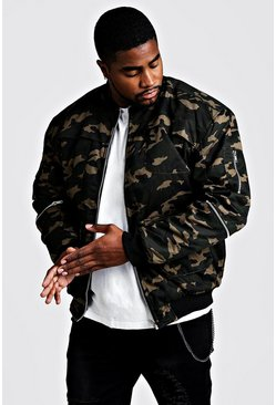 Mens Big & Tall Camo Utility Jacket