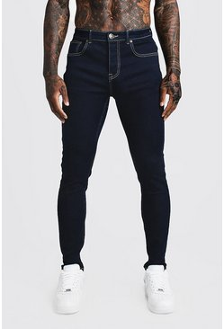 Indigo Skinny Fit Denim Jeans