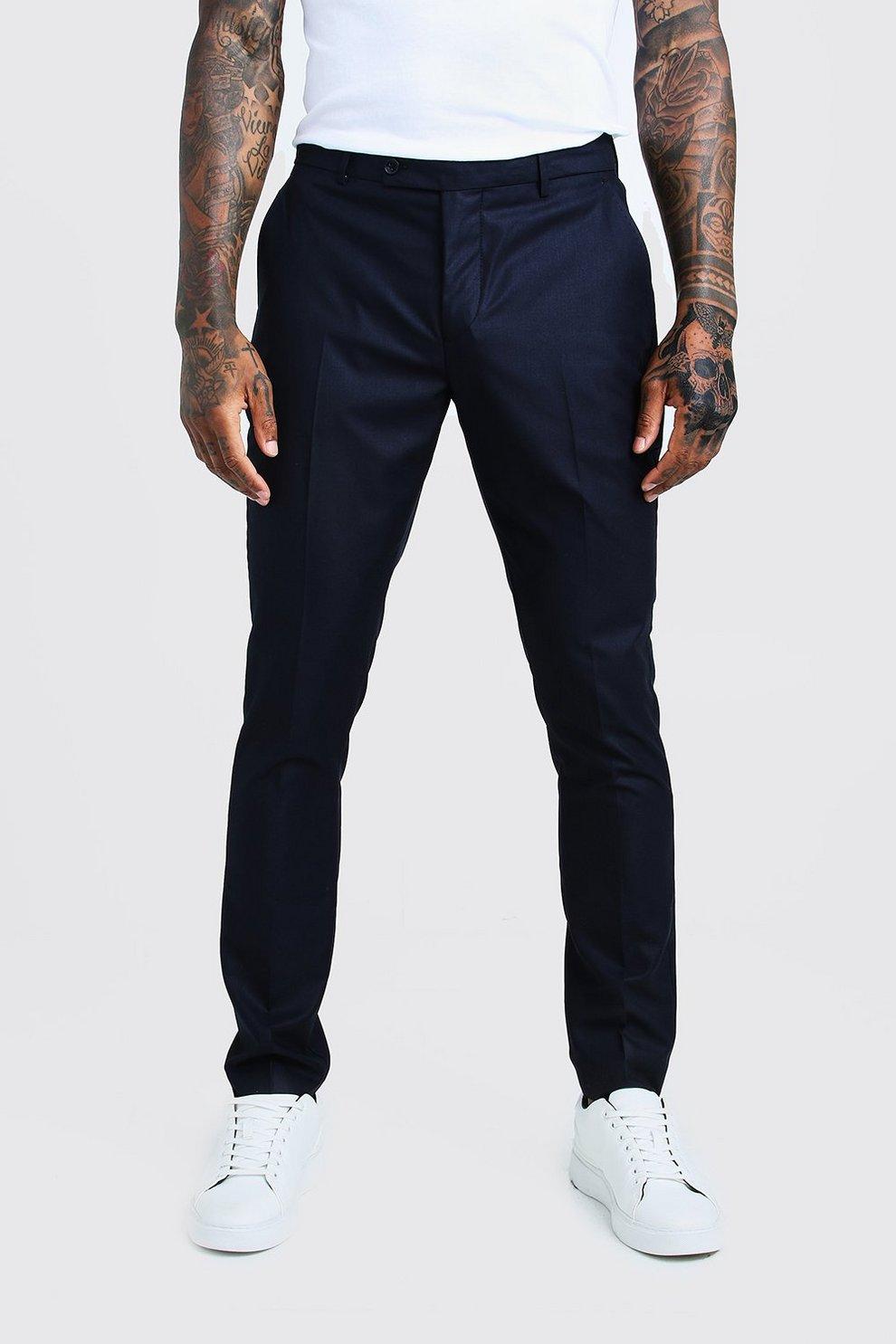 new product 76d60 b94fe Pantaloni eleganti con riga davanti