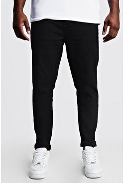Black Big & Tall Skinny Fit Jeans