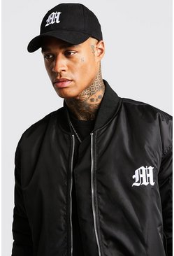 Herr Black Man Aesthetic Embroidered Cap