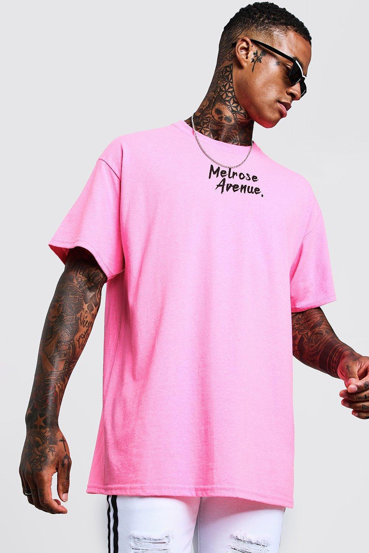pink t shirt male