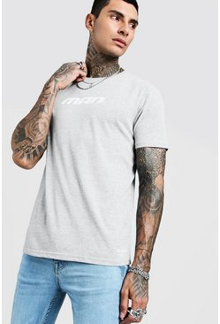 Mens Grey MAN Season 1 T-Shirt
