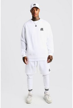 Herr White MAN Aesthetics Loose Fit Heavy Weight Sweater