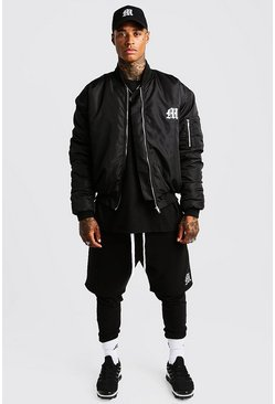 Herr Black MAN Aesthetics Slim Fit Joggers