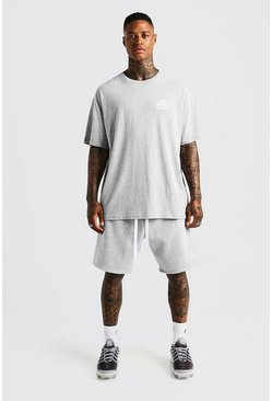 MAN Aesthetics Loose Fit Short, Grey, HOMMES