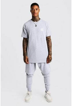 Herr Grey MAN Aesthetics Longline Drop Shoulder T-Shirt