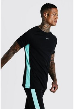 Aqua MAN Active Muscle Fit Raglan T-Shirt