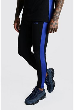 Herr Cobalt MAN Active Joggingbyxor med kompression