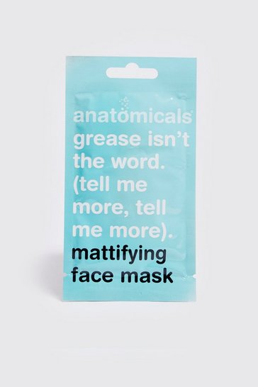 Mens Pale green Mattifying Face Mask