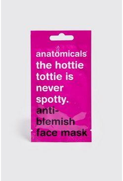 Mens Pink Anti-Blemish Face Mask