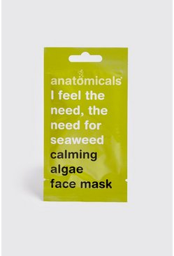Mens Green Calming Algae Face Mask