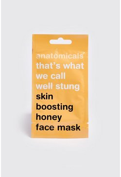 Mens Skin Boosting Honey Face Mask