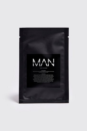 Mens Clear MAN Honey Sheet Face Mask