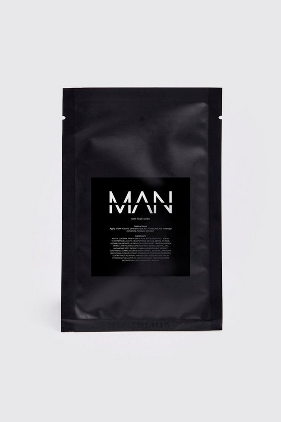 Clear MAN Kiwi Sheet Face Mask