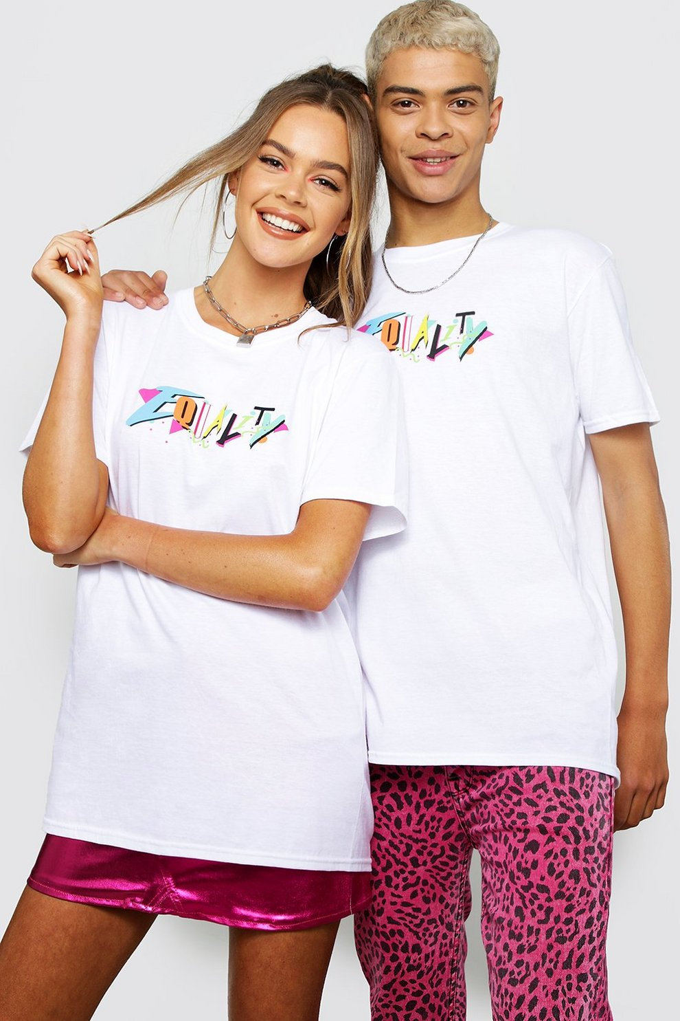 Pride Loose Fit T-Shirt With Front & Back Print