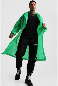 Mens Green Festival Eva Raincoat