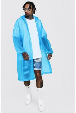 Mens Blue Festival Eva Raincoat