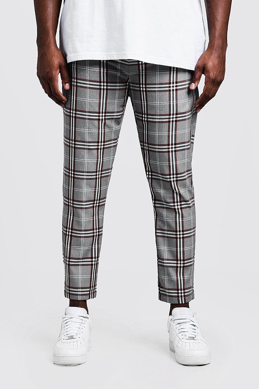 in vendita b3ca9 6c5d6 Big & Tall pantaloni tuta corti con gamba dritta | Boohoo
