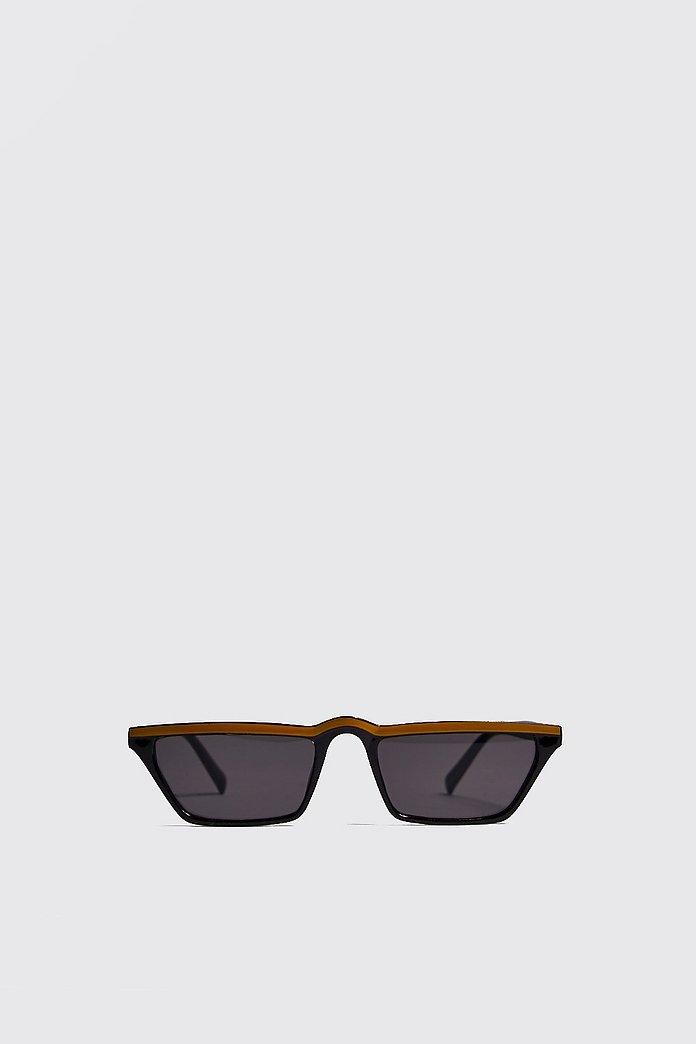 Colour Stripe Micro Sunglasses | boohoo